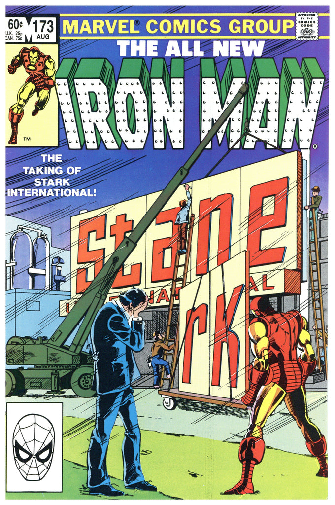 Iron Man #173 NM