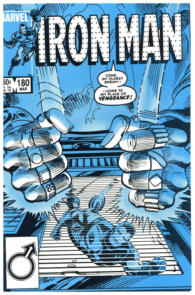 Iron Man #180 NM+