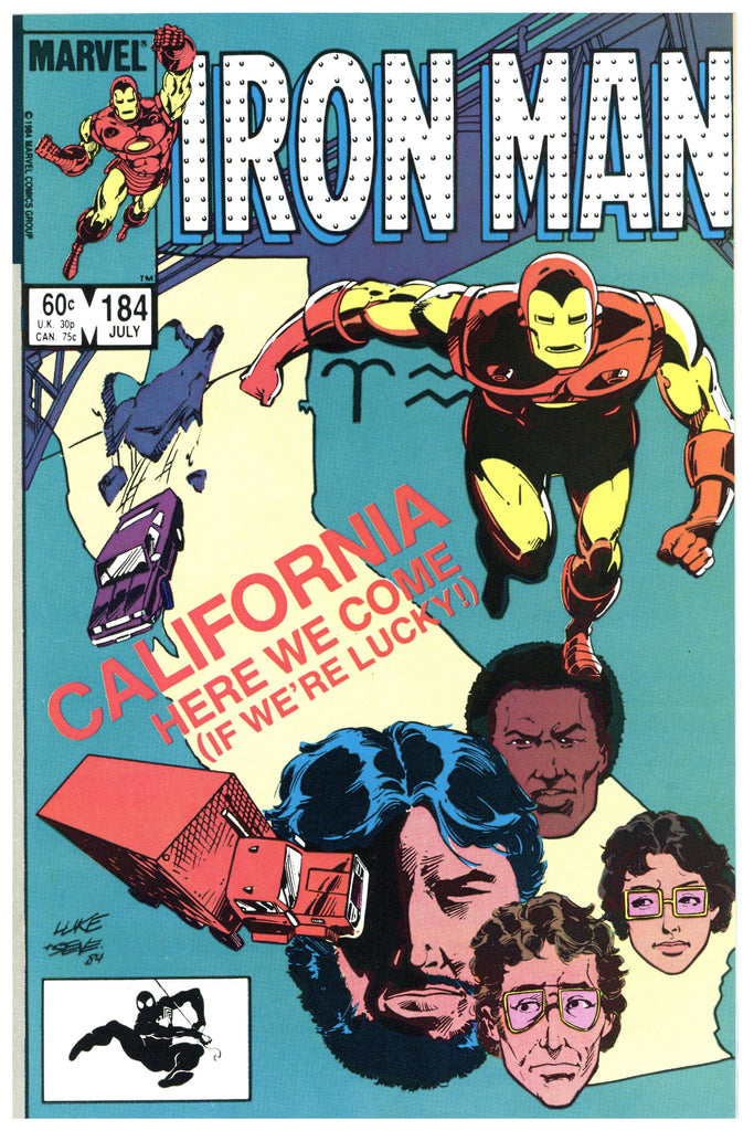 Iron Man #184 NM/MT