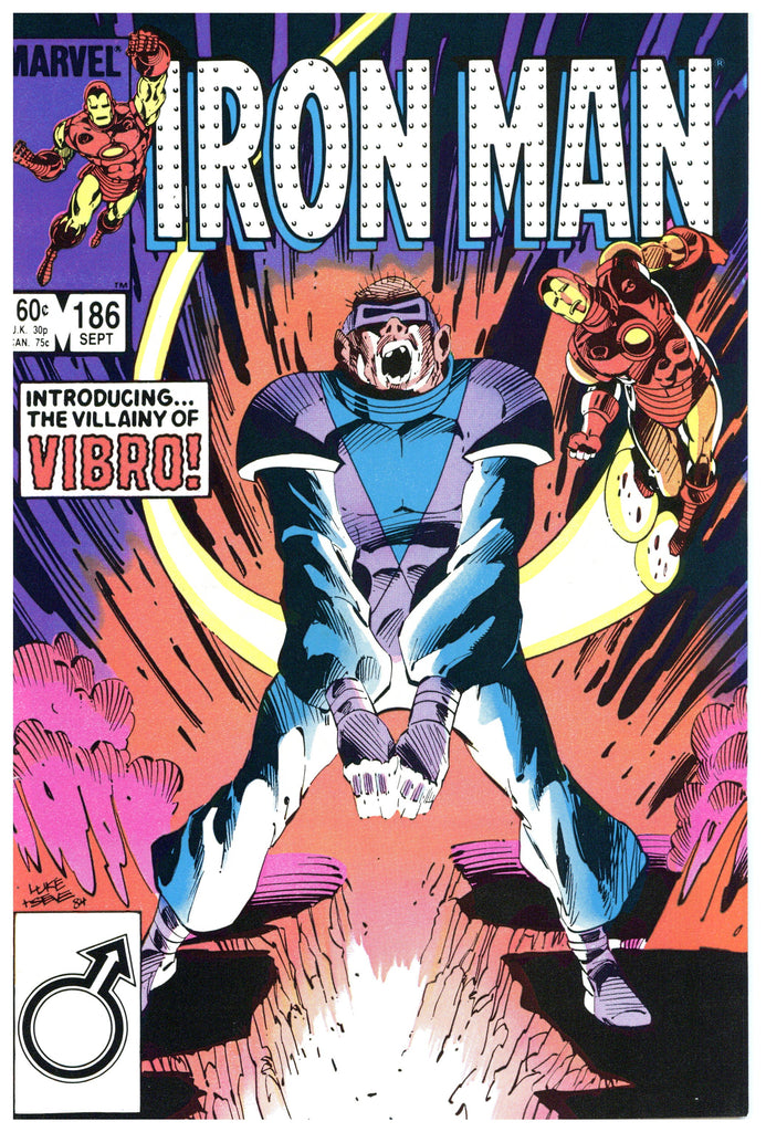 Iron Man #186 NM+