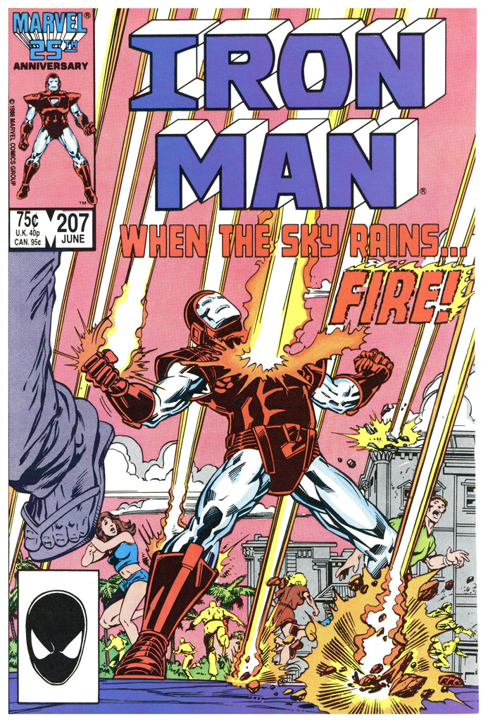 Iron Man #207 NM+