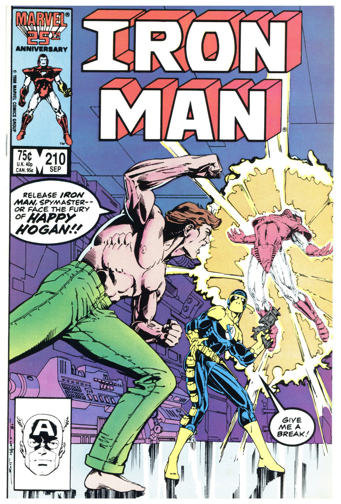 Iron Man #210 NM-