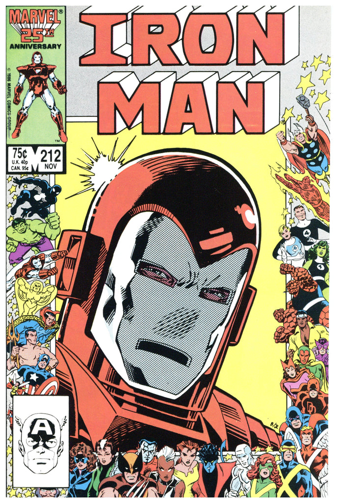 Iron Man #212 NM+