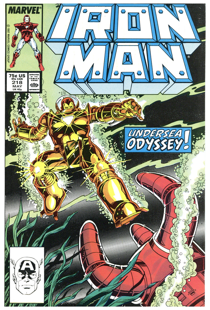 Iron Man #218 NM-