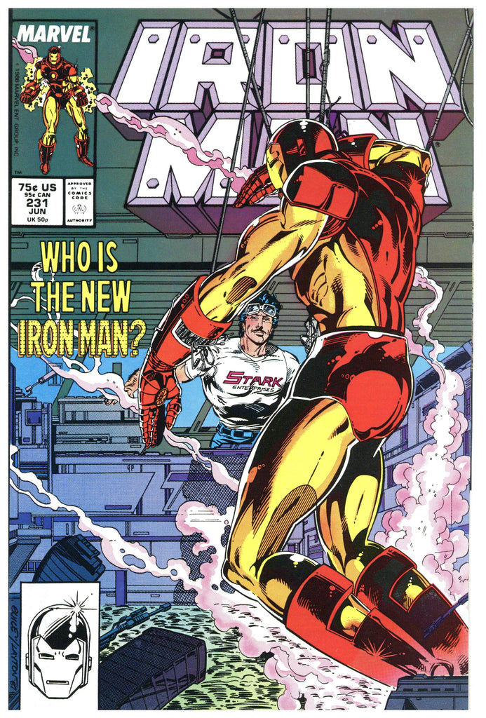 Iron Man #231 NM/MT