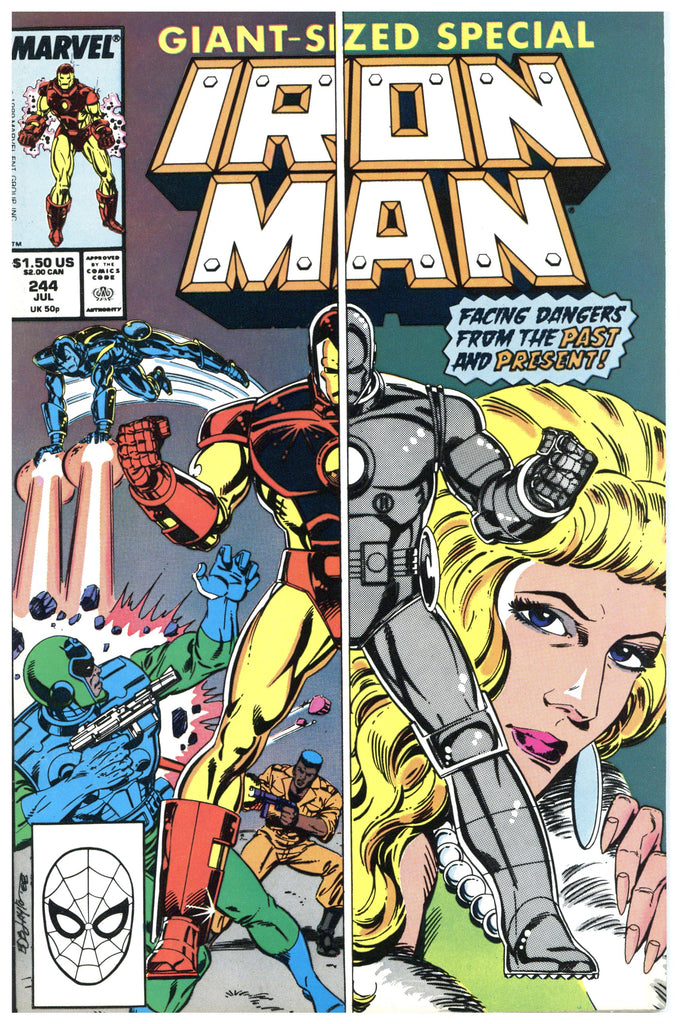 Iron Man #244 NM+