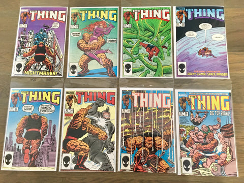 The Thing #19 thru 36  VF to NM (17 books total)