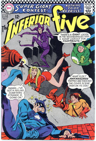 Inferior Five #2 VF+