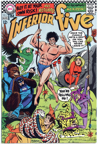 Inferior Five #3 VF-