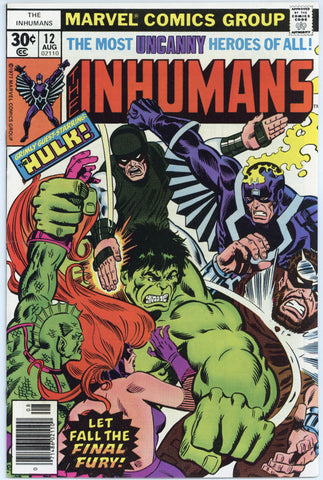 Inhumans #12 NM