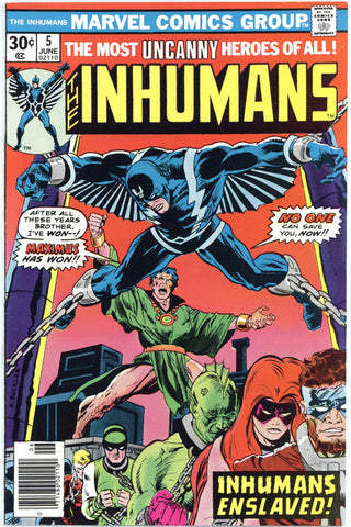 Inhumans #5 NM
