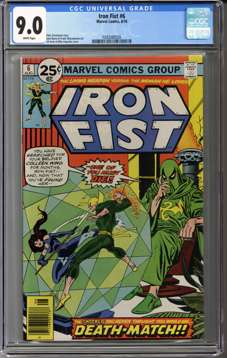 Colorado Comics - Iron Fist #6  CGC 9.0