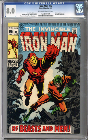 Colorado Comics - Iron Man #16  CGC 8.0