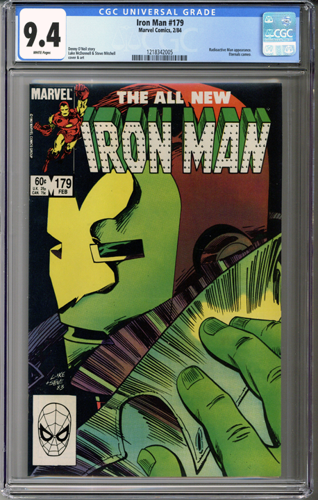 Colorado Comics - Iron Man #179  CGC 9.4