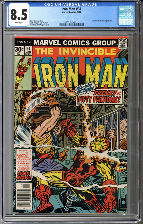 Colorado Comics - Iron Man #94  CGC 8.5