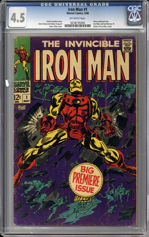 Colorado Comics - Iron Man #1  CGC 4.5
