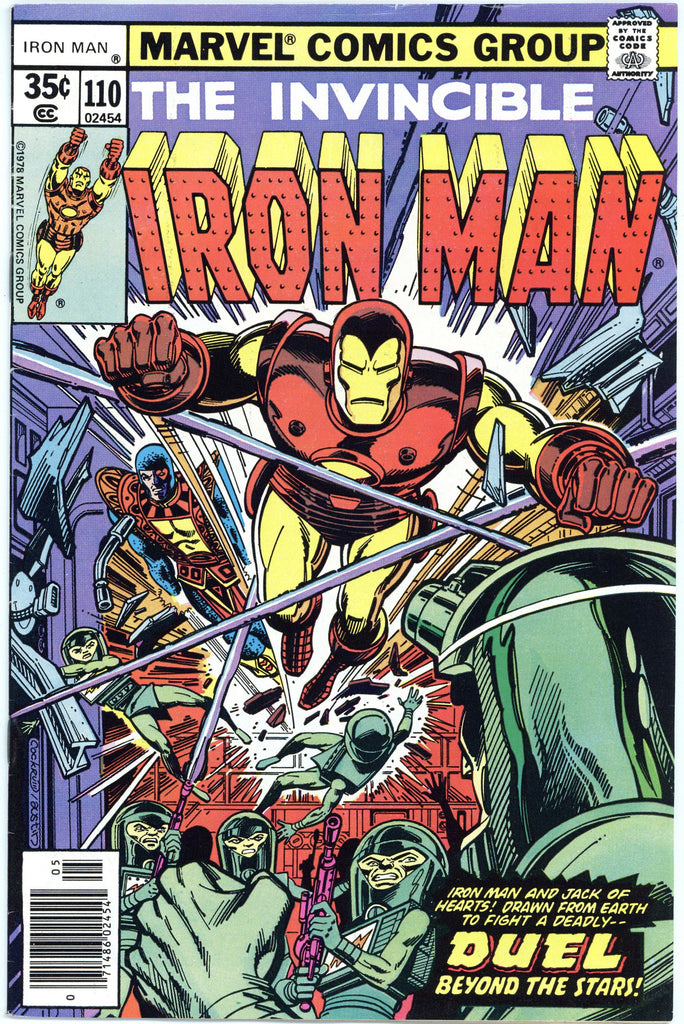 Iron Man #110 VF-