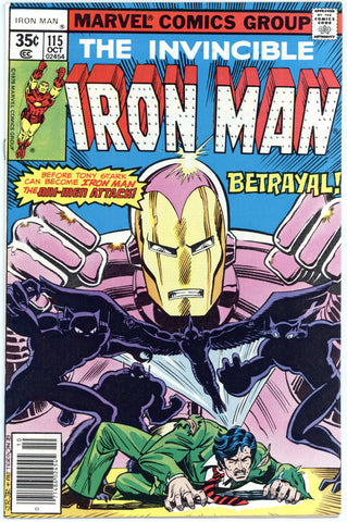 Iron Man #115 NM+