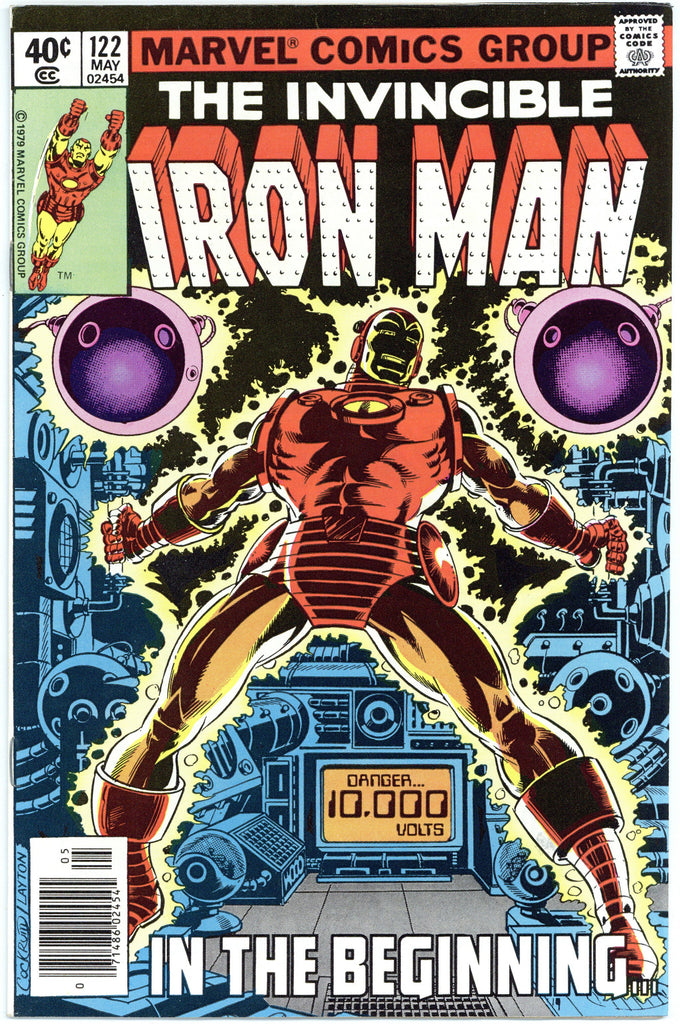 Iron Man #122 NM-