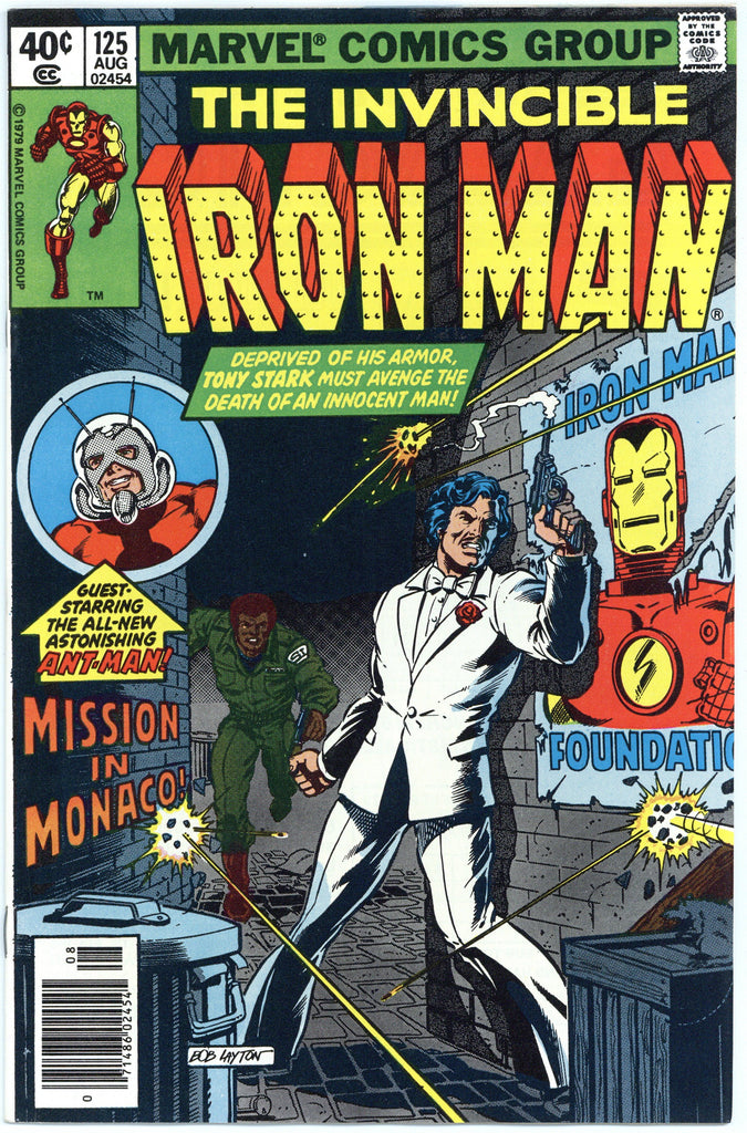 Iron Man #125 NM