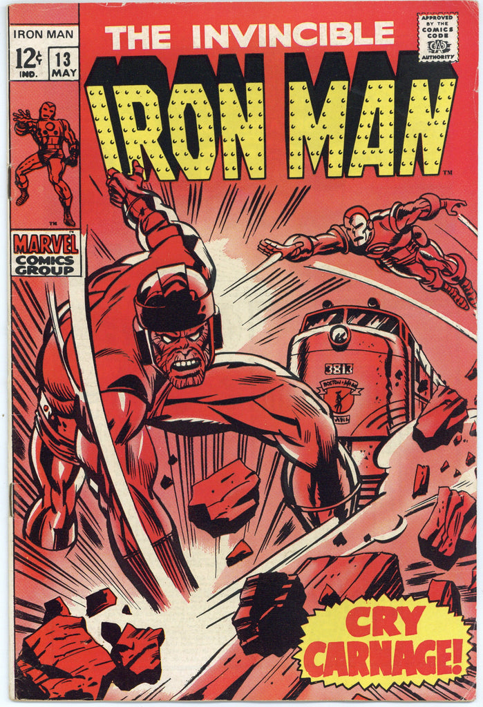 Iron Man #13 VF-