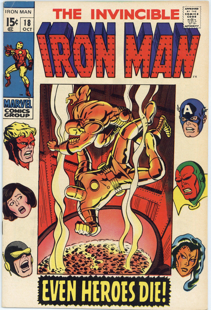 Iron Man #18 VF-