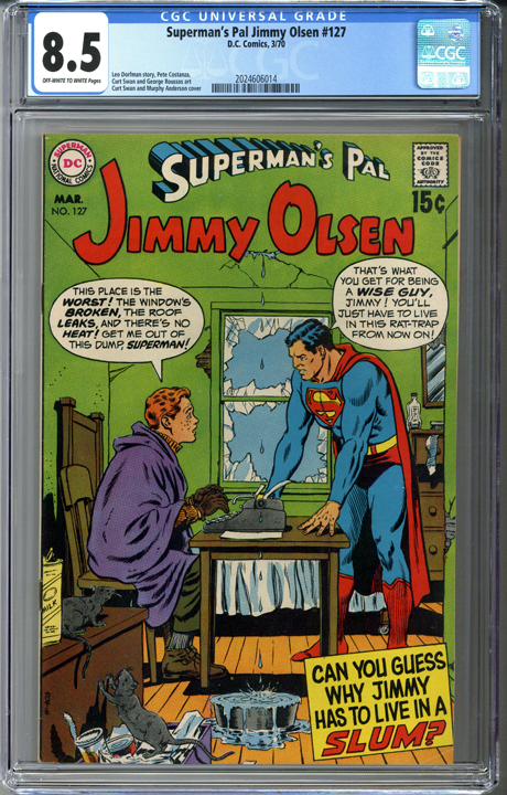 Superman's Pal Jimmy Olsen #127 CGC 8.5