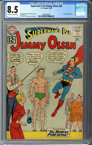 Superman's Pal Jimmy Olsen #65 CGC 8.5
