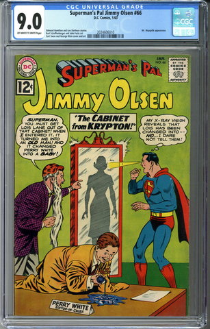 Superman's Pal Jimmy Olsen #66 CGC 9.0