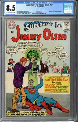 Superman's Pal Jimmy Olsen #87 CGC 8.5