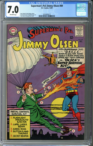 Superman's Pal Jimmy Olsen #89 CGC 7.0