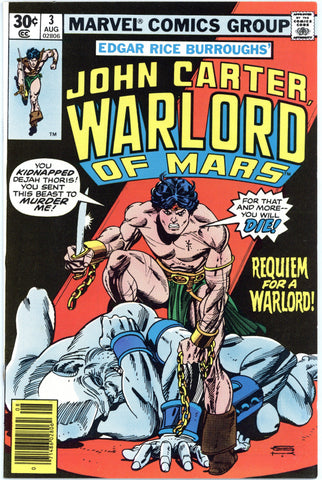John Carter, Warlord of Mars #3 NM