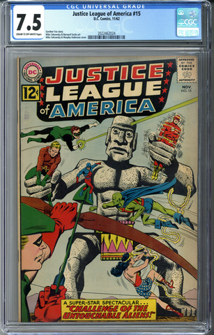 Justice League of America #15 CGC 7.5