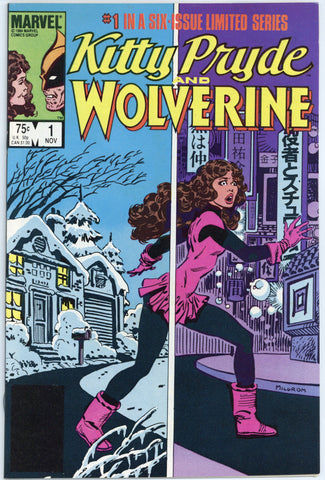 Kitty Pryde and Wolverine Limited Series #1, 2 and 4 NM+ (3 books total)