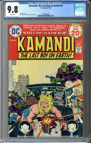 Kamandi, the Last Boy on Earth #19 CGC 9.8