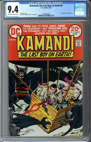 Kamandi, the Last Boy on Earth #9 CGC 9.4