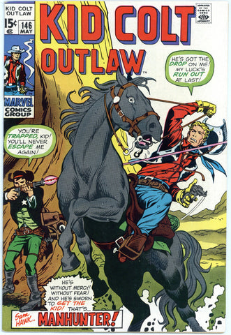 Kid Colt Outlaw #146 NM-