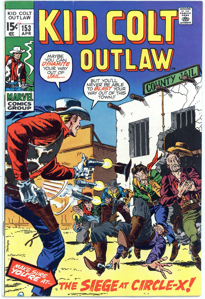 Kid Colt Outlaw #153 NM