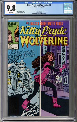 Kitty Pryde & Wolverine #1  CGC 9.8