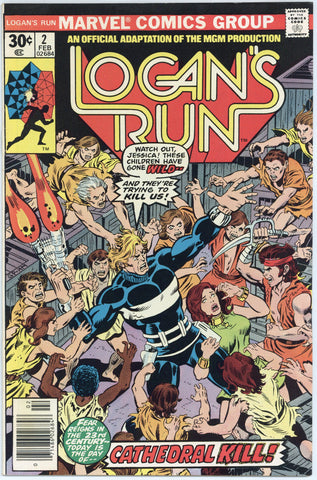 Logan's Run #2 NM+