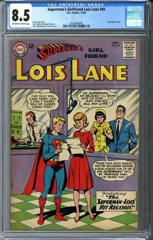 Superman's Girlfriend Lois Lane #45 CGC 8.5