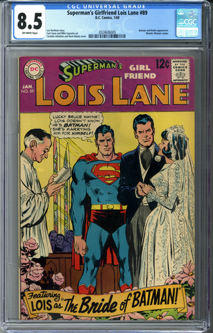 Superman's Girlfriend Lois Lane #89 CGC 8.5