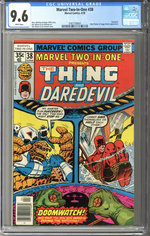 Marvel Two-In-One #38 CGC 9.6