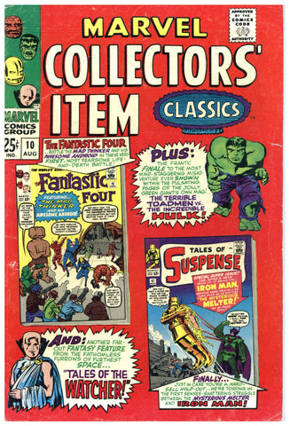 Marvel Collectors' Item Classics #10 VG