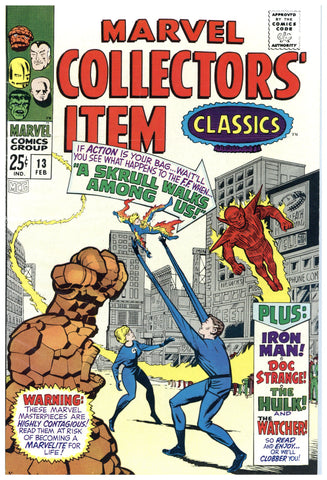 Marvel Collectors' Item Classics #13 VF-