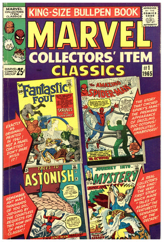 Marvel Collectors' Item Classics #1 Fine-