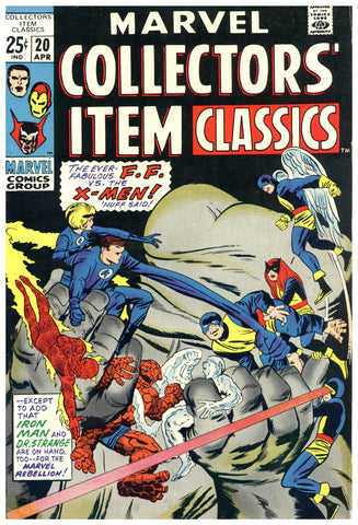 Marvel Collectors' Item Classics #20 VF-