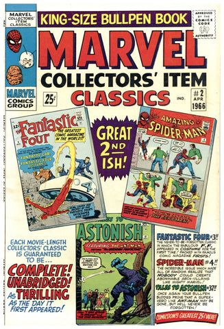 Marvel Collectors' Item Classics #2 F/VF