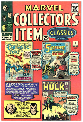 Marvel Collectors' Item Classics #3 VF-