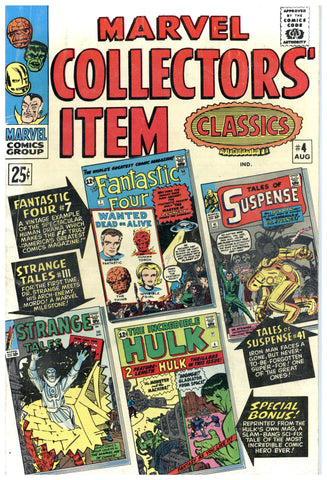 Marvel Collectors' Item Classics #4 VG